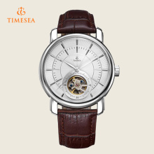 Automatic Mechanical Leather Band Men′s Watch 72351