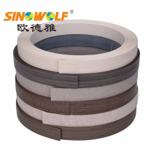 Matt Finish Plastik Furniture PVC ABS Edge Banding