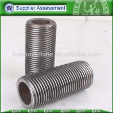 Hydraulic thread rolling machine for steel pipe screw
