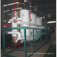Máquina de unidade de refino de óleo de amendoim comestível pequeno / grande capacidade