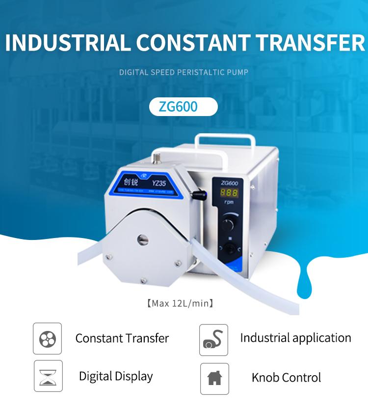 ZG600 peristaltic pump