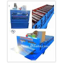 QJ venda quente cnc 850 telha de metal que faz a máquina China