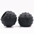 изготовленные на заказ детали из силиконовой резины полый резиновый шар