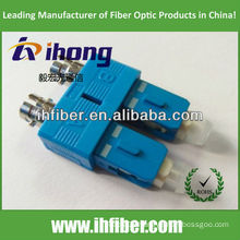 ST female SC male duplex fiber adapter