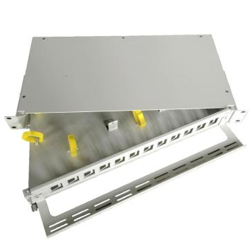 19 inch Rack Mount Fiber Optic Patch Panel