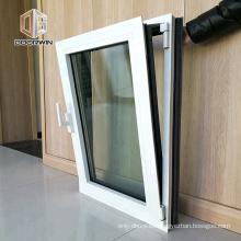 Ventana estándar australiana AS2047 AS2208 de aluminio con vidrio de baja emisora y ventana giratoria con herrajes Roto