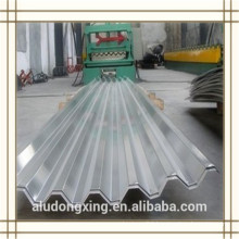 3004 H24 corrugated aluminium sheet for the roof and curtain wall