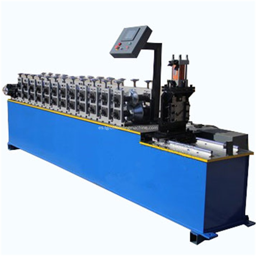 Metal Stud C Channel con H Hole Machine