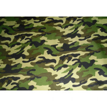 Polyester microfiber camouflage print fabric