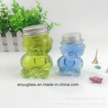Mini Cute Panda Honey Glass Jar with Lid