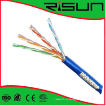 Cable de LAN de UTP / FTP / SFTP Cat5e con alta calidad