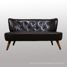 Famous Design Wooden Fabric Sofa with High Quality