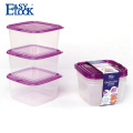Fruits and vegetables plastic airtight container