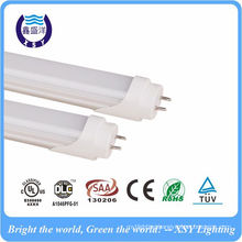 led tube fixture High bright SMD2835 110lm/w t8 600mm 1200mm DLC led tube fixture