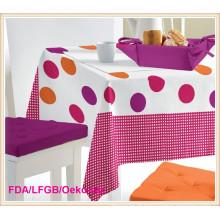 Toalha de mesa / toalha de mesa impressa PVC / PEVA
