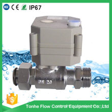 OEM Dn20 Nickel Plated Brass Electric Motorised Motorized Ball Valve