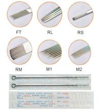 Más alta calidad y más barato 316L desechables tatuaje aguja