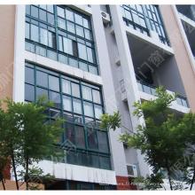 Nouveau mur rideau de façade en verre d'alliage d'aluminium de conception