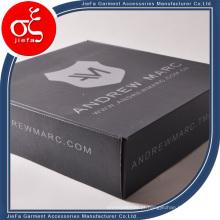 Caixa de embalagem personalizada high-end para vestuário