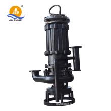 Pompe d'eaux usées submersible pour eaux usées avec dispositif à couplage automatique