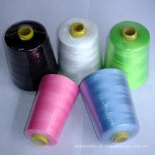 100% gesponnenes Polyester-Nähgarn