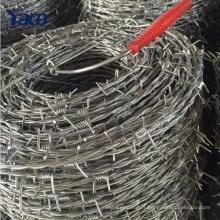 Chine fournisseurs barbelés fil poids par mètre, barbelé roll