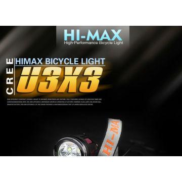 CREE XM-L U3 * 3 BIKE LIGHT 3000 LUMEN