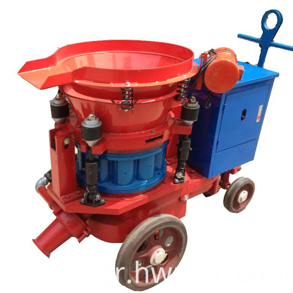 building use shotcrete machine