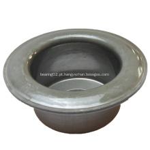 Alojamento de rolamento de esferas da pressão do rolo transportador da baixa tolerância