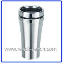Tasse en acier inoxydable de tasse à café, tasse de voyage, (R-2014)