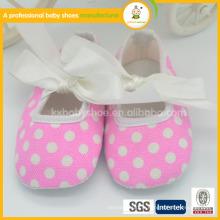Vente nouveau design de mode coton butteyfly doux coquille chaude vente chaussures de danse bébé