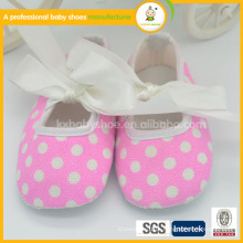 Venda novo design de moda algodão butteyfly soft shell quente venda bebê dança sapatos
