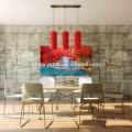 Impresión moderna de la lona de la cascada de Dreamlike / arte pacífico estirado de la pared del paisaje / pintura de la lona del árbol de arce