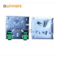 2 Ports Mini Fiber Optic Faceplate