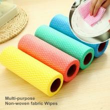 100% Polyester Non-tissé Spunlace Cloth Roll