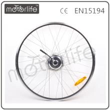 Elektrisches Fahrrad im Radmotor