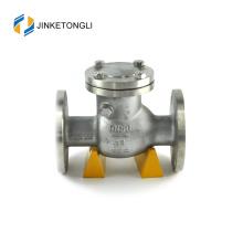 JKTLPC105 horizontal de acero forjado de acero inoxidable válvula de retención