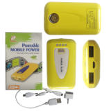 Power Bank/ Power Source Battery/6600mAh Mobile Backup Power