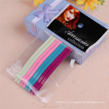 Lady Fashion Jewelry Accessories 6.5cm Colorful Metal Hairpins (JE1023-2)