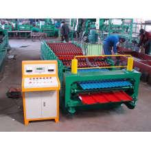 Doppelbogen-Walzenformmaschine
