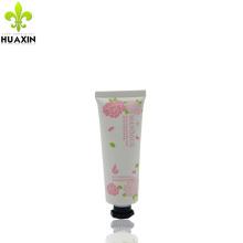 tubo branco para embalagens pomada creme cosmético com tampa octogonal