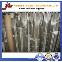 250 X 250 Meshes / 0.06mm Ss304 Mesh de aço inoxidável