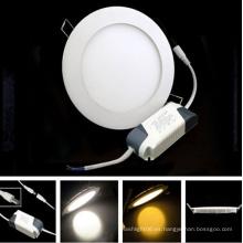 10W Slim LED Panel de luz con certificación CE