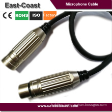 Heavy duty 3 Pin XLR Microphone Cable Male To Female Balanced Patch Lead