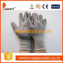 13-Gauge-Nylon mit PU-beschichtetem Handschuh Dpu116