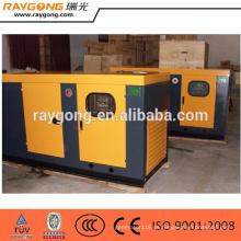 Generador diesel silencioso del generador 100kva fijó el motor de Yuchai