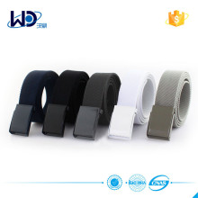 Wholesale Canvas men fabric belt