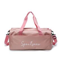 2021 Large Capacity Yoga Travel Gym Women Bags Wholesale Women Custom Duffel Tote Overnight Bag
