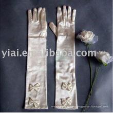 Высокое качество Бриал перчатки очень матч с свадебное платье AN2121