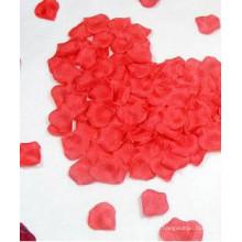Pétala de rosa pétalas de seda flor para um casamento